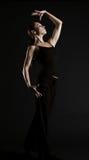 Danzatore elegante immagine stock