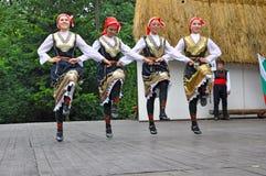 Danzatore femminile, Lulin, Bulgarie fotografie stock libere da diritti
