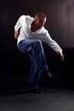 Danzatore freddo dell'uomo Fotografia Stock Libera da Diritti