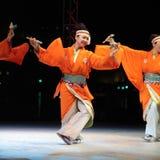Danzatore giapponese Fotografia Stock