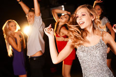 Danzatore grazioso Immagini Stock Libere da Diritti