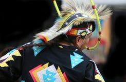 Danzatore indiano del cerchio Immagini Stock