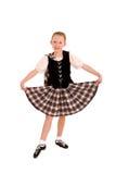 Danzatore irlandese Fotografia Stock