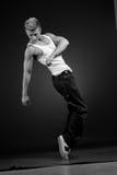 Danzatore moderno Immagini Stock