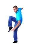 Danzatore moderno dell'uomo freddo Immagine Stock