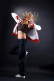 Danzatore moderno della donna Fotografia Stock Libera da Diritti