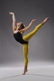 Danzatore moderno di stile Fotografia Stock Libera da Diritti