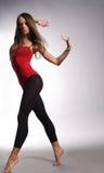Danzatore moderno di stile Fotografia Stock