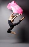 Danzatore moderno di stile Fotografie Stock Libere da Diritti