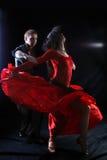 Danzatore nell'azione Fotografia Stock