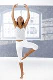 Danzatore nella posa di balletto Fotografia Stock Libera da Diritti