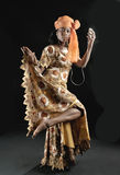 Danzatore nigeriano - IYABO Immagini Stock Libere da Diritti