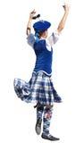 Danzatore scozzese Fotografie Stock Libere da Diritti