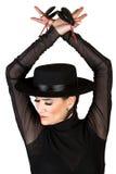 Danzatore spagnolo fotografie stock libere da diritti