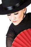 Danzatore spagnolo fotografia stock