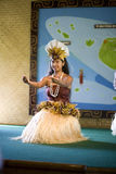 danzatore tahitian Immagini Stock Libere da Diritti