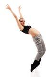 Danzatore teenager della ragazza fotografie stock