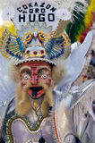 danzatore tipico Bolivia immagini stock libere da diritti
