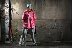 Danzatore urbano Immagine Stock Libera da Diritti