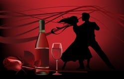 Danzatori. royalty illustrazione gratis