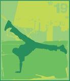 Danzatori 2 della rottura Immagine Stock