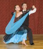 Danzatori adolescenti sui contes di ISDF Fotografia Stock