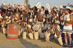 Danzatori africani Immagini Stock Libere da Diritti