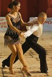 Danzatori: Alexandru Dutcovici ed Ana Marin Fotografia Stock Libera da Diritti