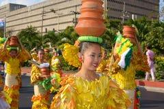 Danzatori del POT di argilla Fotografia Stock