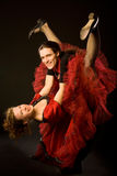 Danzatori dell'oscillazione Fotografia Stock