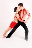 Danzatori della sala da ballo Fotografie Stock Libere da Diritti