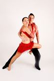 Danzatori della sala da ballo Fotografia Stock