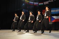 Danzatori di Malambo Immagine Stock