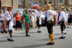 Danzatori di Morris Fotografia Stock