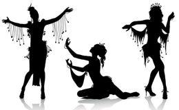 Danzatori di pancia illustrazione vettoriale