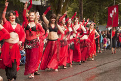 Danzatori di pancia immaginari Fotografia Stock Libera da Diritti