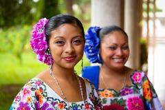 Danzatori di piega messicani Fotografia Stock