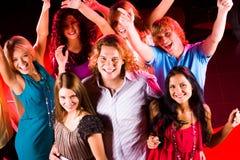 Danzatori felici Immagine Stock