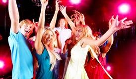 Danzatori felici Fotografia Stock Libera da Diritti