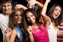 Danzatori felici Immagini Stock Libere da Diritti