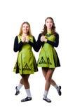 Danzatori irlandesi Fotografia Stock