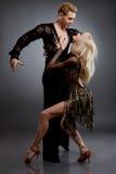 Danzatori latini Immagini Stock