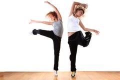 Danzatori moderni della donna Fotografia Stock