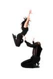 Danzatori nell'azione Immagine Stock Libera da Diritti