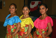 Danzatori peruviani Immagini Stock