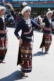 Danzatori tailandesi Fotografie Stock Libere da Diritti