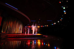 Danzatori in un locale notturno Immagine Stock Libera da Diritti
