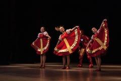 Danze popolari russe Immagini Stock Libere da Diritti