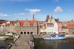 Danzica Polonia fotografie stock