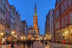 Danzica, Polonia Fotografie Stock Libere da Diritti